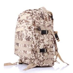 Image 1 - 40L açık 3D spor askeri taktik tırmanma dağcılık sırt çantası kamp yürüyüş Trekking sırt çantası seyahat açık çantası