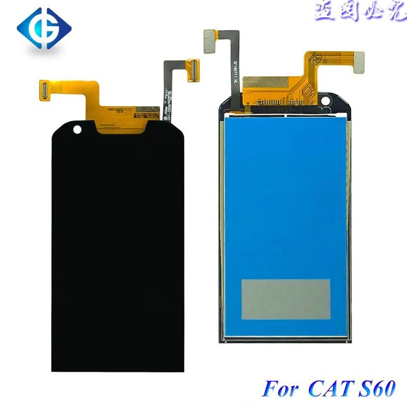 4 7 for Caterpillar for CAT S60 LCD Screen Display Touch Screen Digitizer Complete for Cat