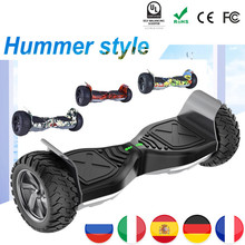 Eu Off Road Hoverboard Hummer 8.5 Inch Gyropode Scooter Electric Skateboard Overboard Haveboards Tas Remote Bluetooth
