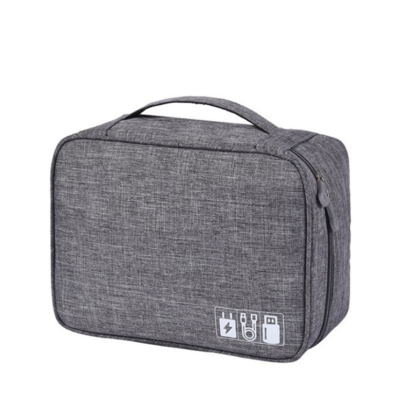 Waterproof Electronic Organizers Bag Large Capacity Digital Pack Bags Cationic Fabric Travel Accessories Multifunctional