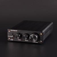 PJ.MIAOLAI K7 TDA7498 200W 2 channel desktop HiFi PC high and low sound adjustment high power home digital audio amplifier