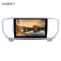 Harfey HD Touchscreen Android 8.1 Radio 9 for 2016 2017 KIA KX5 Sportage with GPS car multimedia player Bluetooth Aux USB