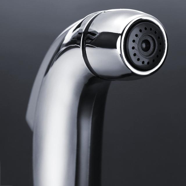 Mayitr Hand Held Bidet Diverter Valve Toilet Shower Head Shower Flexible Shower Hose for Bathroom Bidets