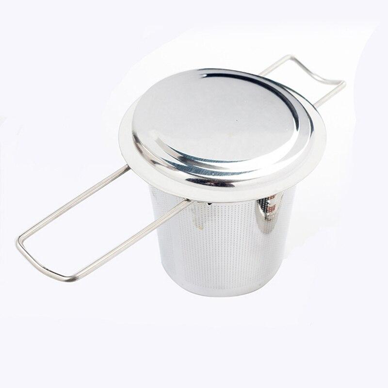 100% Wahr Mesh Tee-ei Edelstahl Filter Extra Fein Mesh Passt Standard Tassen Tassen Teekannen Für Brau Einweichen Lose Tee Seien Sie Freundlich Im Gebrauch