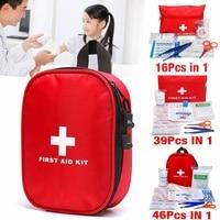 3 soorten 16 PCS/39 PCS/46 PCS Ehbo-kit Bag Emergency Medische Survival Behandeling Rescue Lege doos