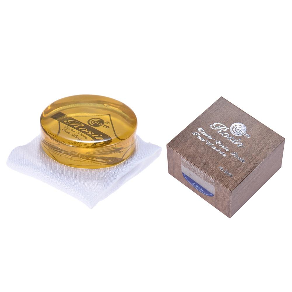 Высококлассная прозрачная желтая канифоль цветная деревянная Коробка Универсальная для скрипки альт виолончель эрху смычок