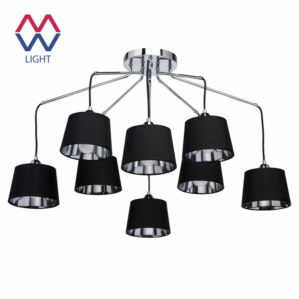 Ceiling Lights Mw-light 103011308 lighting chandeliers lamp Indoor Suspension Chandelier pendant everflower modern led pendant hanging light fixture ceiling chandelier two rings fixture