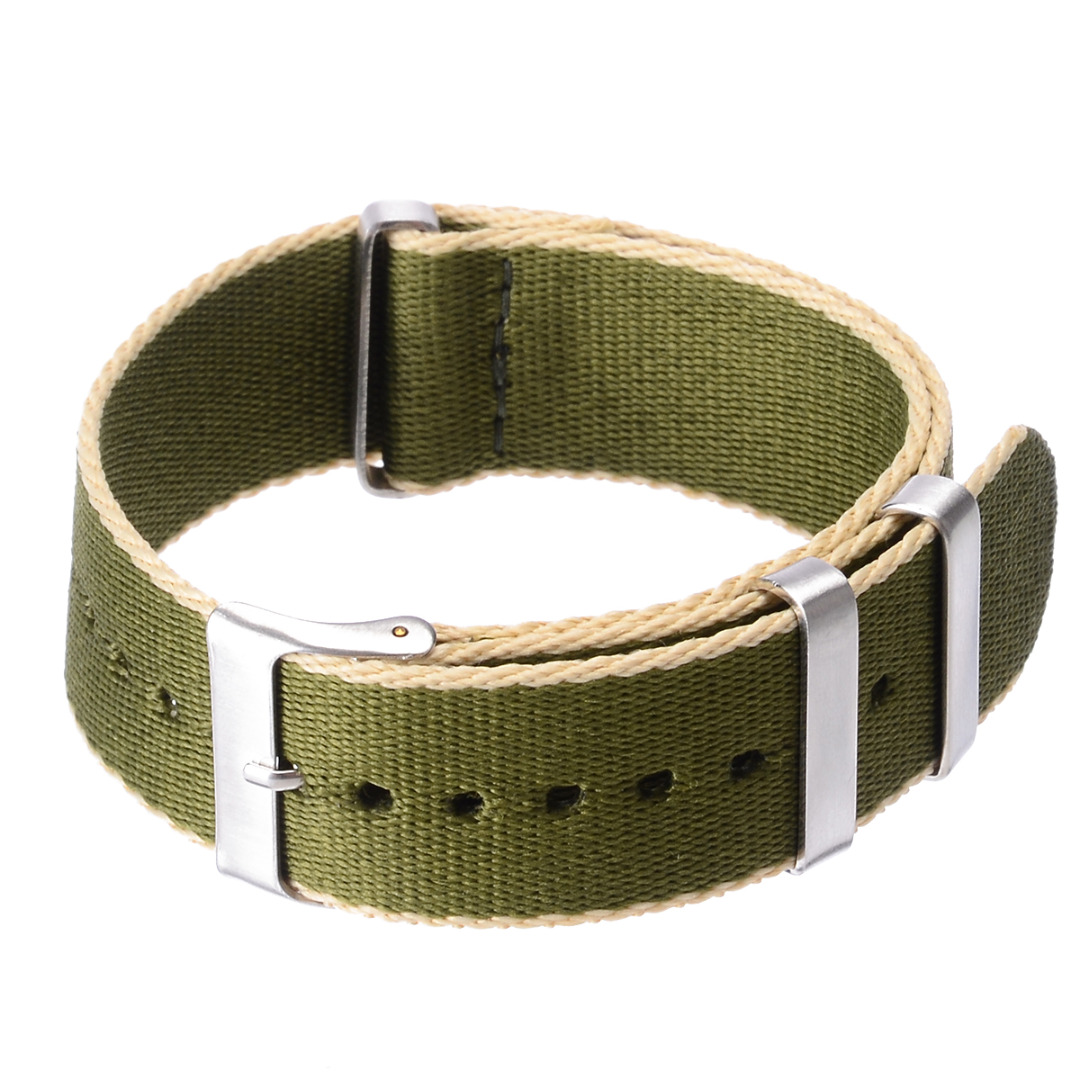 8 Colors 22mm Fashion Military Nylon Wrist Watch Band  Nylon Watch Straps Replacement Belt For Men Women Watches Accesssories