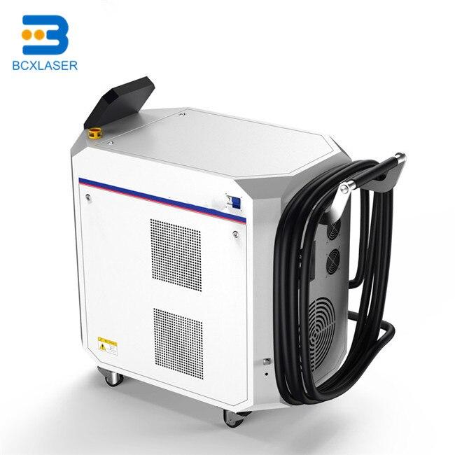 Machine de nettoyage de laser de fibre de la performance 50 W/100 W/200 W élevée pour le nettoyage de surface de revêtement