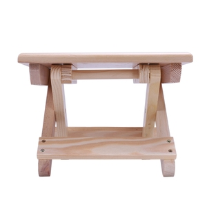 Image 2 - Переносное пляжное кресло, простой деревянный складной стул, уличная мебель, стулья для рыбалки, современный Маленький стул для кемпинга