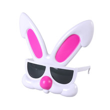 8bc7bdfa1a Easter Fancy Costume Accessories Bunny Ear Design Funny Glasses Kids Novelty  Sunglasses With Grey Lenses Party Supplies