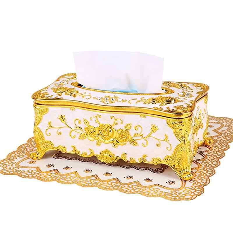 1 шт. коробка для хранения ткани Европейский стиль высокого качества креативный держатель диспенсер Контейнер Коробка Чехол для KTV Hotel салфетка для семейного использования