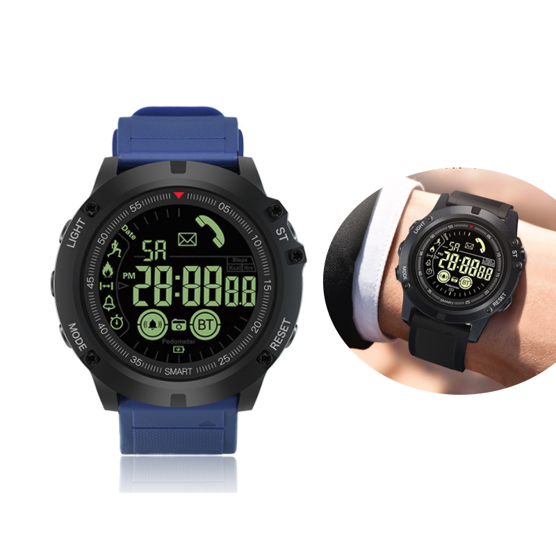 EX17S Professional Sport Smart Watch Men IP68 5ATM Waterproof 2 Years Standby 1 24 Inch Display Smartwatch For Android IOS in Smart Watches from Consumer Electronics