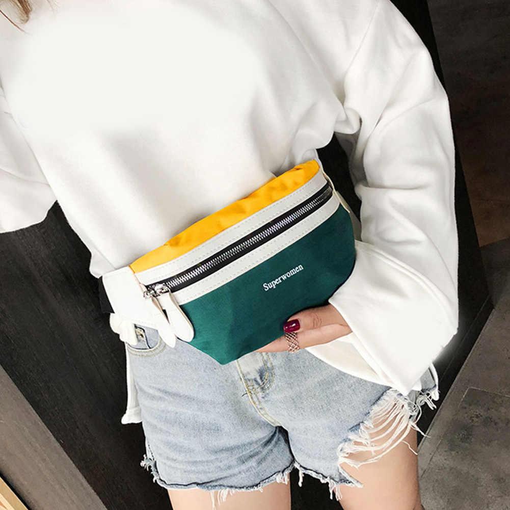 Money Waistbag Hip Bumbag Bum Beltbag Female Male Belt Waist Bag Women Men Handy Pouch Purse Phone Fanny Pack