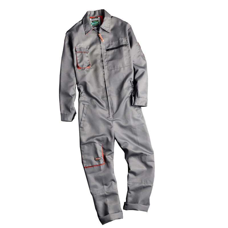 Big Size Men Multi-pocket Work Jumpsuits Worker Repairman Tooling Overalls Male Protective Coveralls Fashion Rompers Uniforms