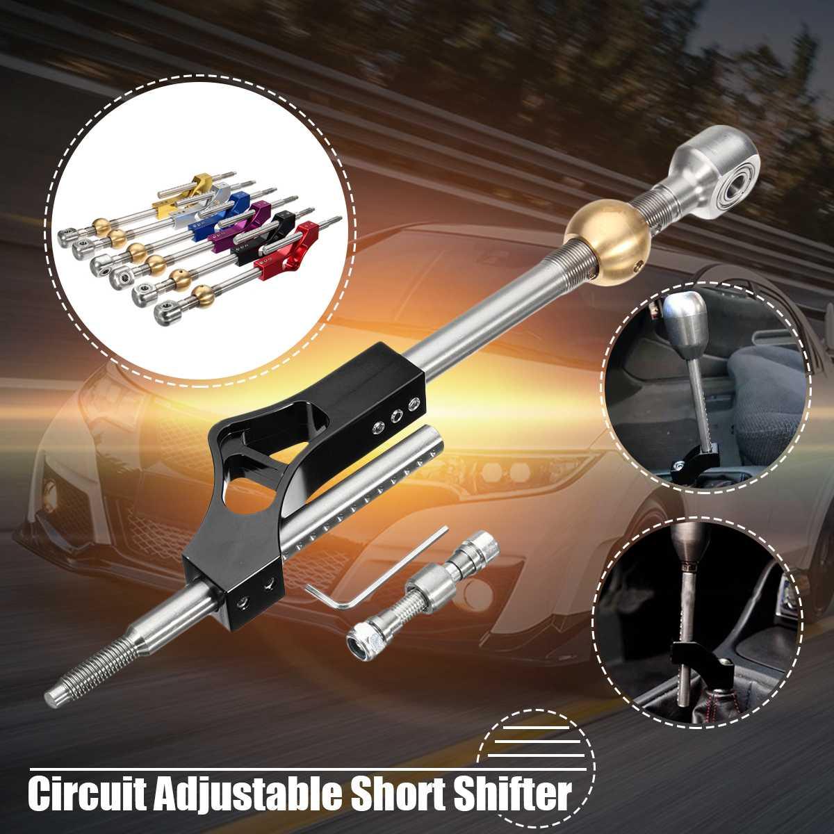 Nouvelle Voiture Extender Pro Circuit Réglable Short Shifter Maj Rod Bar Pour Honda Pour Civic Integra CRX B16 B18 B20 d16 Dans Les Engrenages