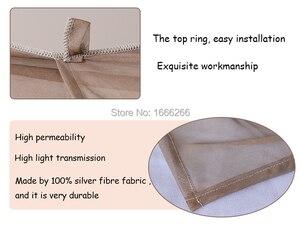 Image 4 - Dossel emf quadrado que protege a radiação eletromagnética (220cm x 220cm x 220cm única porta)