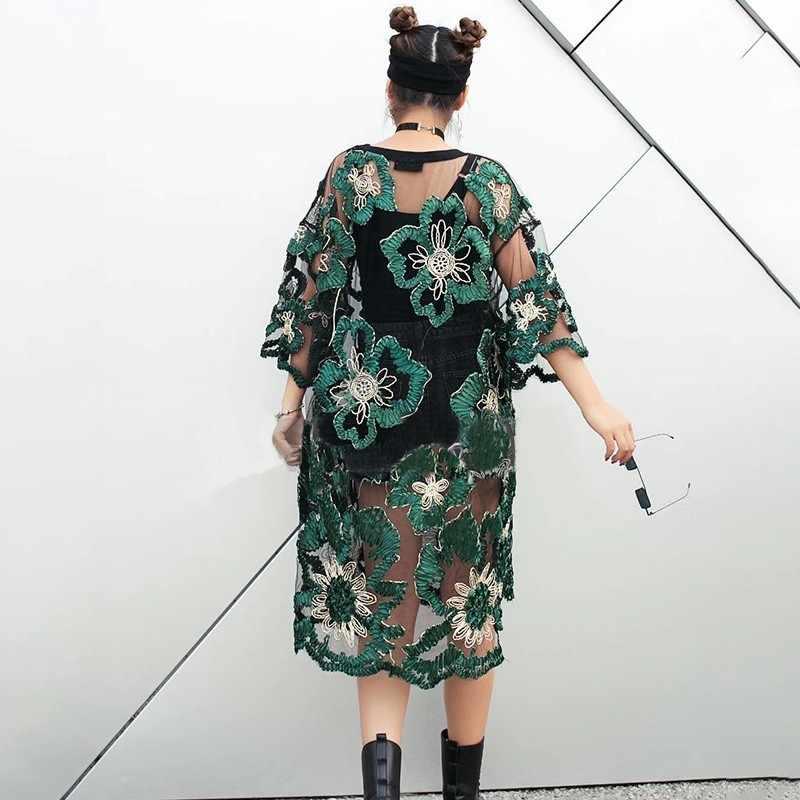 Лето, винтажное платье с вышивкой, перспективное женское платье с О-образным вырезом, полурасклешенным рукавом, свободные тонкие женские платья трапециевидной формы 2019