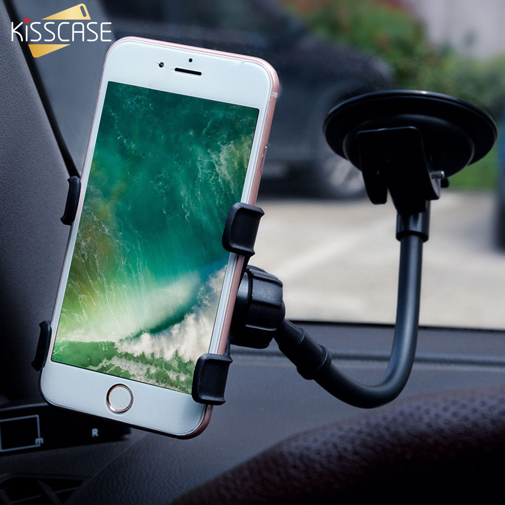 KISSCASE Car Phone Holder For IPhone X Samsung 360 Adjustable Holder For Xiaomi MI9 Stand Holder For Phone In Car For Huawei P30
