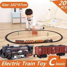 4fa42bdb70350 Elektrikli Yarış Demiryolu Araba Çocuk Parça Tren Model Oyuncak Bebek  Demiryolu tren Yarış Yol Ulaşım Yapı Yuvası Setleri Oyunca.