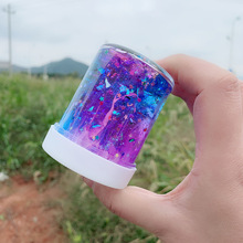 DIY Clear Slime Toys Crystal Mud Fluffy Glue Gradient Color Cloud Supplies Magic Sand Antistress Putty Clay