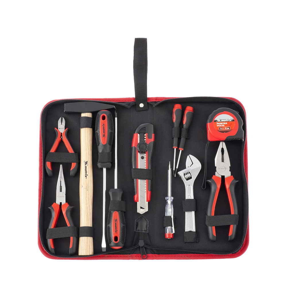 цены Hand Tool Sets MATRIX fitting and assembly, 12 items 13562