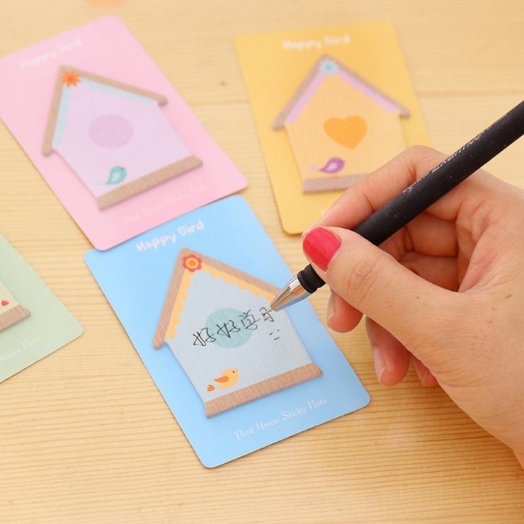 Ellen Brook 1 pièce coréen Notes collantes mignon Kawaii maison Post bloc-Notes Filofax mémo blocs bureau fournitures scolaires papeterie