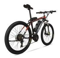 Bicicleta elétrica poderosa 36 v duas rodas bicicleta elétrica garfo de suspensão mtb elétrica mountain bike bicicleta elétrica ebike