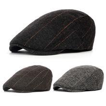 UK мужская плоская кепка берет в елочку Newsboy Bakerboy Hat Gatsby Peaky Blinders