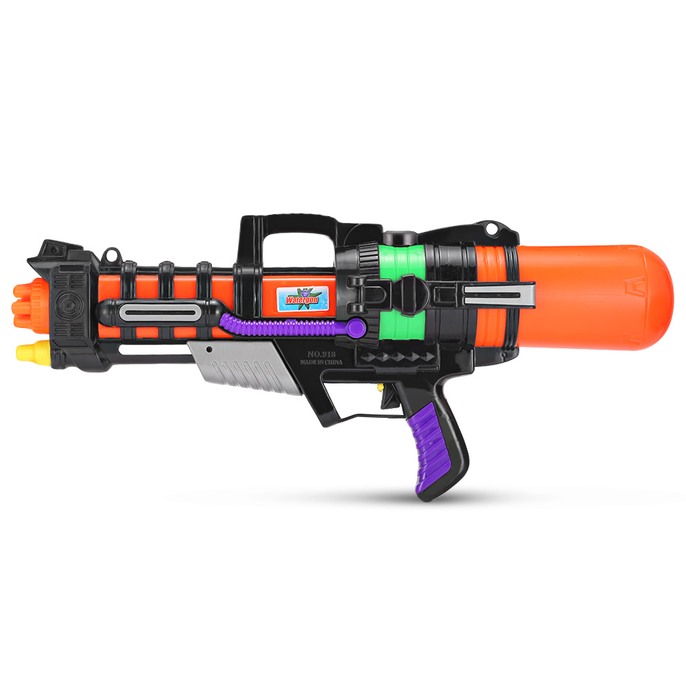 Water Gun Toy 918 Children High Pressure Watergun Toy Super Large Capacity Pull Type Water Gun Far Spray Range Kids Water Toys