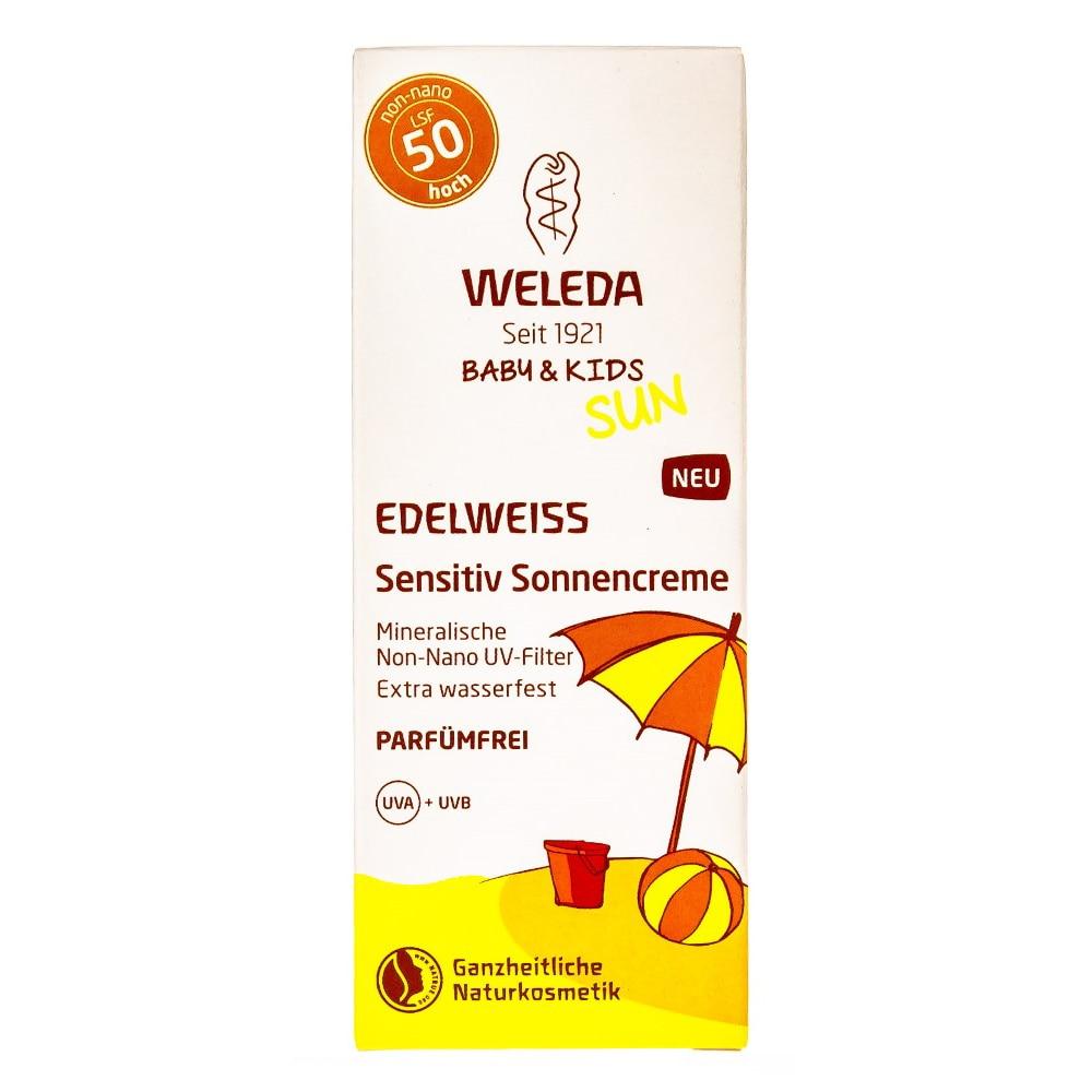 Body Sunscreen WELEDA 7556 sunscreen spf 50 body spray sun protection for face weleda body tuscany set