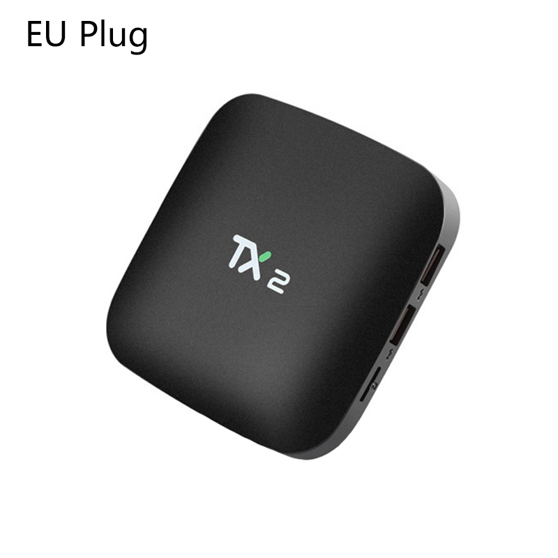 2018 TX2 2GB+16GB Rockchip RK3229 Android 6.0 TV BOX WiFi Media Player EU Plug2018 TX2 2GB+16GB Rockchip RK3229 Android 6.0 TV BOX WiFi Media Player EU Plug