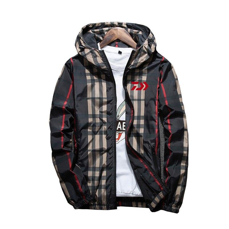 Daiwa Anti-UV été printemps pêche vêtements pour randonnée équitation vêtements lumière Daiwa pêche veste manteau extérieur coupe-vent