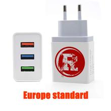 SingFly RIVERDALE Archie Betty Europe Standard 3-Port USB Wall Charger Universal MobilePhone USB Charger Travel Portable Charger
