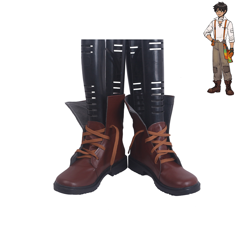 RWBY Oscar Pine Cosplay Shoes Men Boots