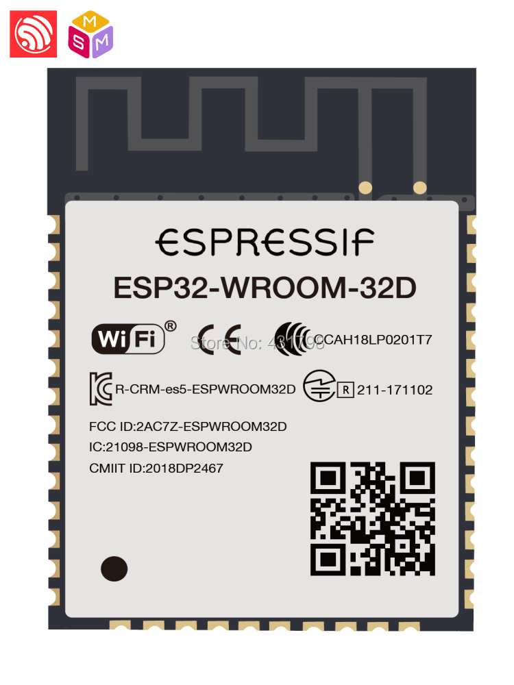 AIOT Espressif SoC ESP32 WiFi Bluetooth module ESP32-WROOM-32D International Edition Home/Industry/Agriculture automation