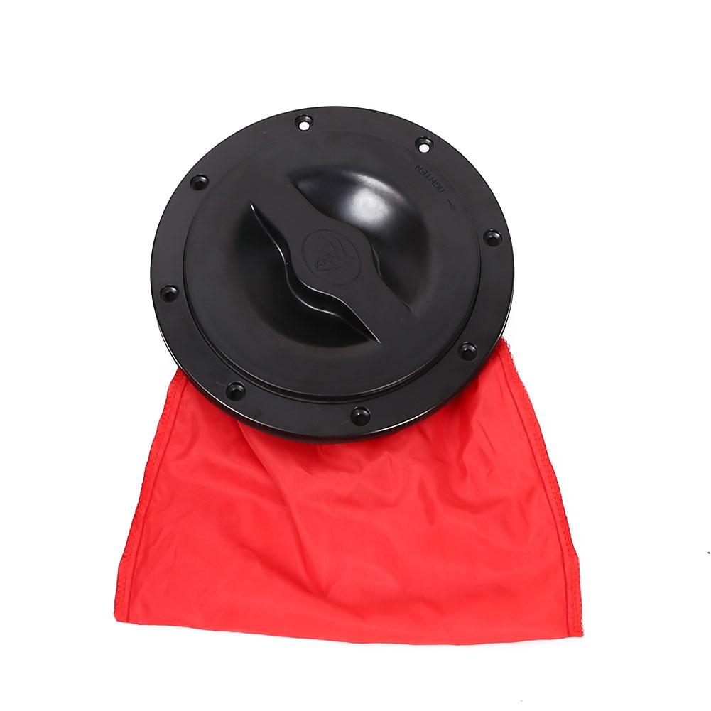 6 дюймов каноэ каяк лодка Крышка люка палубная пластина аксессуары Высокое качество сумка для хранения комплект для морской каноэ лодка Овальный люк Крышка w