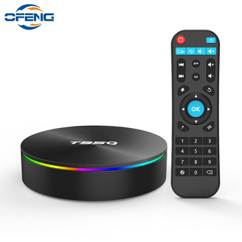 T95Q TV Box Android 8.1 4GB 32GB 64GB Amlogic S905X2 Quad Core Smart TV Box 1000M Set-Top Box 4K 2.4&5G WiFi BT 4.1 Media Palyer