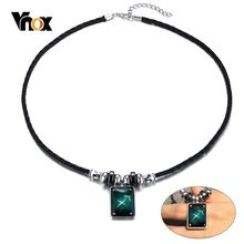 Vnox Vintage Sagittarius Necklace for Men Woman 12 Horoscope Constellation Charm Pendant Astrology Choker(China)