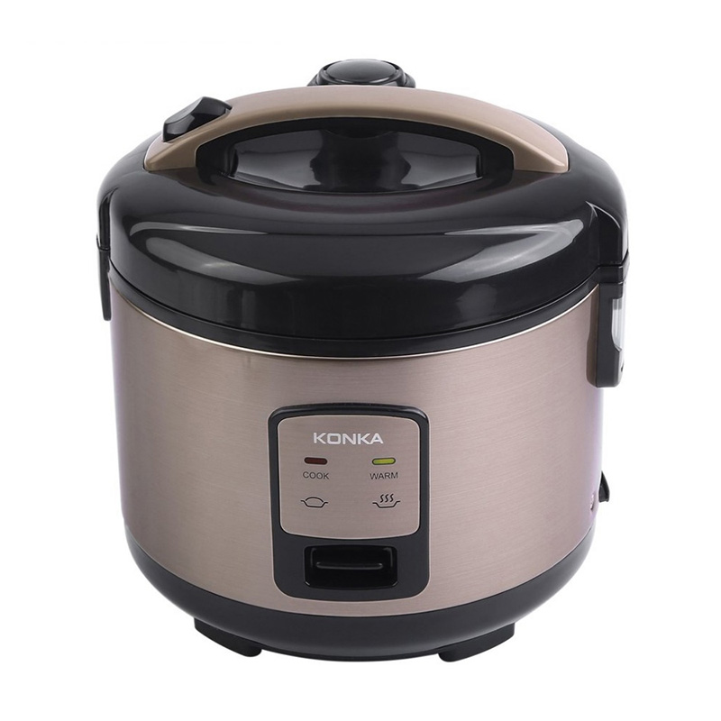 KONKA 3L Rice Electric Cooker 1.5Kpa Micro Pressure Rice Cooking Machine With Non-Stick Coating Detachable Exhaust Valve