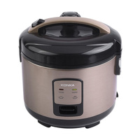 KONKA 3L Rice Electric Cooker 1.5Kpa Micro Pressure Rice Cooking Machine With Non Stick Coating Detachable Exhaust Valve