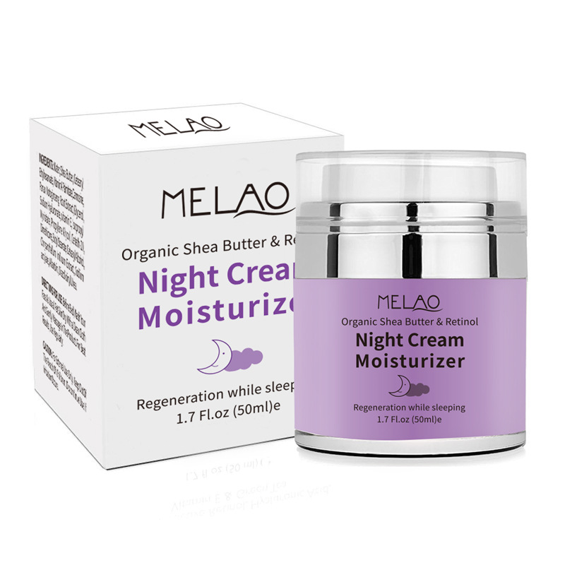 skin care High Quality Night Cream Organic Retinol Moisturizer Nourishing Night Cream Hyaluronic Anti-Wrinkle 50g