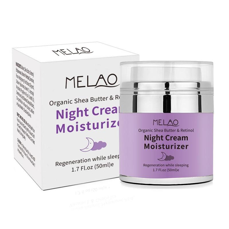 skin care High Quality Night Cream Organic Retinol Moisturizer Nourishing Night Cream Hyaluronic Anti Wrinkle 50g in Treatments Masks from Beauty Health