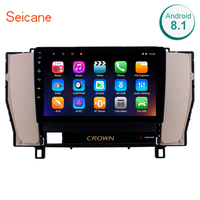 Seicane 9 Android 8.1 1+16G 8 Core GPS Car Radio For 2010 2011 2012 2013 2014 Toyota old crown Head Unit Multimedia Player