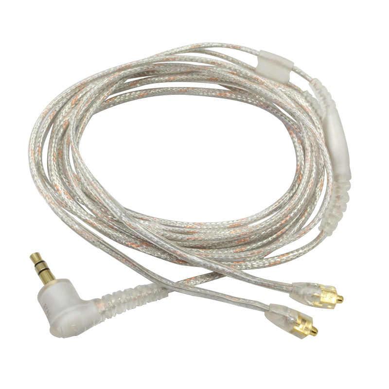 Gorąca AMS-wymiana kabel do Shure Se215 Ue900 W40 Se425 Se535 słuchawki słuchawki