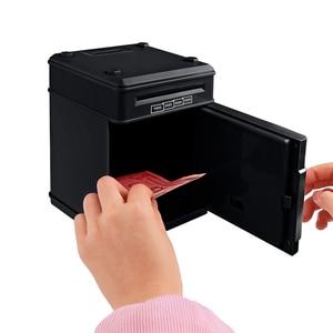 Image 5 - Youool 전자 돼지 저금통 ATM 비밀 번호 돈 상자 현금 동전 저장 ATM 은행 안전 상자 자동 스크롤 종이 지폐 아이를위한 선물