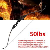 Professional Aluminum 50lbs Recurve Bow Wooden Archery Bow Outdoor Shooting Hunting Bow Practice Sports With Storage Bag