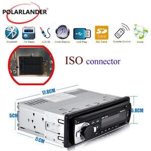 1 din автомобильный MP3 мультимедийный плеер Bluetooth Авторадио автомобильный стерео радио FM Aux вход приемник SD USB JSD-520 12V In-dash Handfree