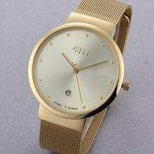 Top Men Watches Luxury Brand Julius Men's Watches Stainless Steel Analog Display Quartz Men Wrist watch Ultra Thin Dial Watch