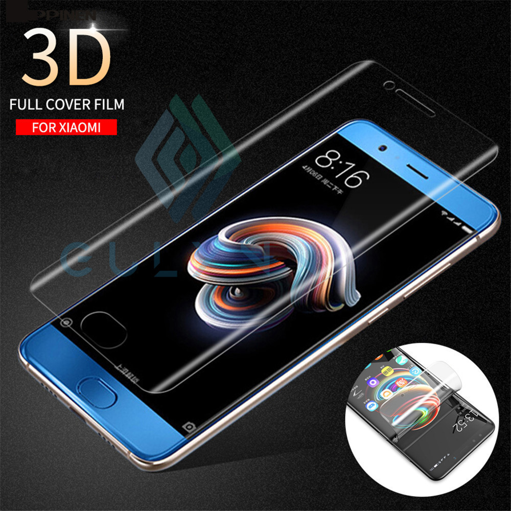 GULYNN Real Soft Full Cover Hydrogel Screen Protector For <font><b>Xiaomi</b></font> <font><b>A1</b></font> A2 8 8 SE Redmi 5 5A 6 6A Plus Pro Protector Film Not <font><b>Glass</b></font> image